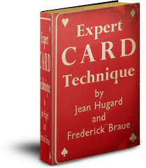 """picture of book """"expert card technique"""""""